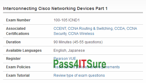 Interconnecting Cisco Networking Devices Part 1 Book